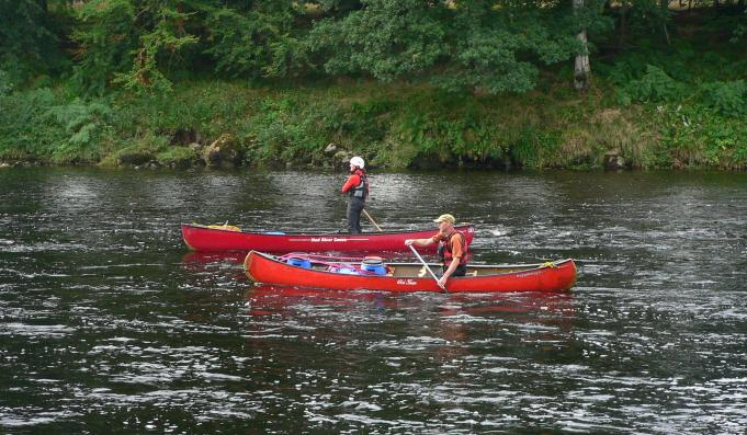 River Dee canoes